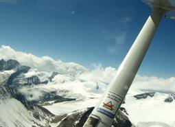 Let nad Alpy pro 3 osoby