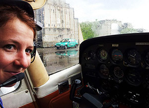 Pilotem letadla Cessna pro 1 osobu