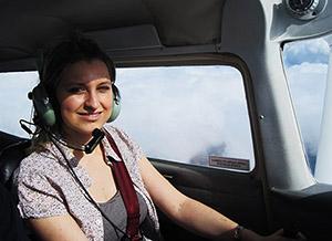 Pilotem letadla Cessna 172 pro 3 osoby