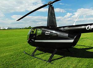 Vyhlídkový let vrtulníkem nad Brněnskou přehradou 20 minut pro 1 osobu